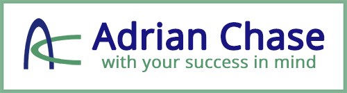 Adrian Chase with your success in mind